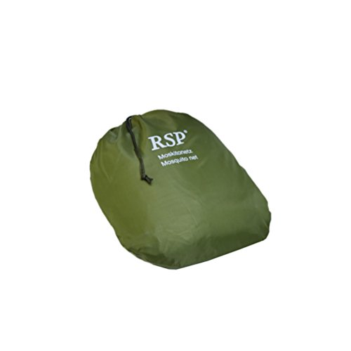 Moskitonetz Travel XXL - auch für Doppelbetten - das Original von RSP ®  Olive / Grün - Das Leben Auf Dem Land 100% Grünen