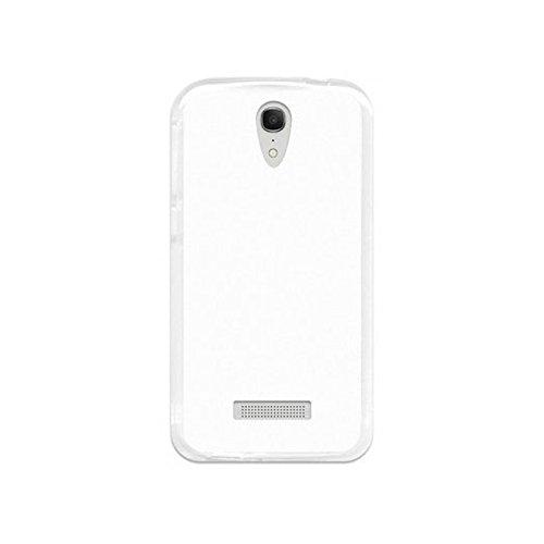 TBOC® Transparent Gel TPU Hülle für Vodafone Smart 4 Power Ultradünn Flexibel Silikonhülle