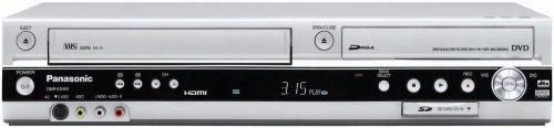 Panasonic dmr-es45vs registratore DVD/VCR Combo con HDMI, scheda SD e ingresso DV argento