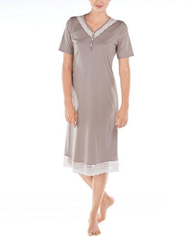 Calida Almada Nightshirt, Camicie da Notte Donna Beige (Morning dusk 843)