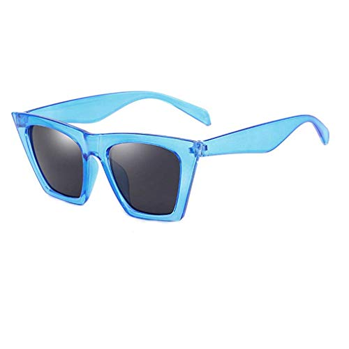 Junecat Unisex Sonnenbrillen Frauen Männer Kunststoffrahmen Quadrat-Objektiv-Sonnenbrille Anti-UV-Skifahren-Reise Brillen