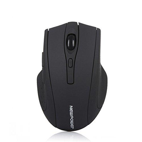 Familizo Mouse 2.4 GHz Wireless Optical Gaming Mouse per il computer portatile del (108 Chiave Usb)