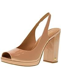 LSCp3yNWBa Odelia Bootie Sandalo Con Tacco Cuoio Pelle Tacco 100mm 36,5