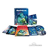 Monster AG 3D + 2D Blu-ray (Monsters Inc.) - extrem limitiertes STEELBOOK im Quarterslip (Limitiert auf 800 Stück - weltweit!) inkl. Fotokarte, Storybook, Stickerbook und nummerierter Artcard! [Blu-ray]