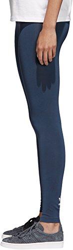 Adidas trefoil Legging Bleu