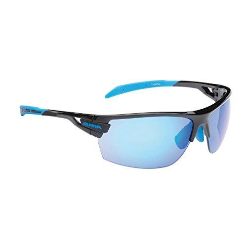 Sonnenbrille Alpina Tri-Scray Ra.sw/cyan Gl.blau versp+klar+orange ver 2016257400