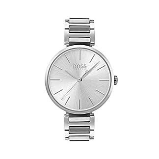 Hugo BOSS Reloj Análogo clásico para Mujer de Cuarzo con Correa en Acero Inoxidable 1502414
