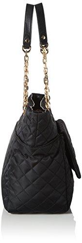 Liu Jo Tulipano Shopper - Borse Tote Donna, Schwarz (Black), 15.5x28x31 cm (B x H T) Nero (Black)