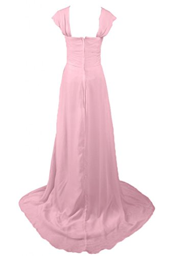 Sunvary Charming A-Line abito da sera, formale Pageant, Maxi Pink