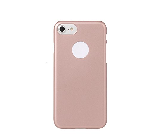 ARTILVST iphone 7 Custodia,Ultra sottile Metà struttura circondata Sand superficie opaca cassa durevole PC del phone case/cover/custodia für iphone 7 [nero] oro rosa