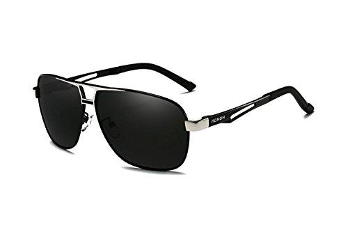 Mooyii Polarisierte Herren Sonnenbrille Polarisierte Outdoor Sportbrille 100% UV400 Schutz Fahren Sonnenbrille