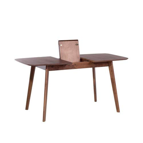 MADOX - Mesa de Comedor Extensible (120-150 x 75 cm), Color marrón ...
