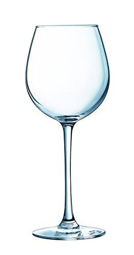 Luminarc 8017705 Lot de 3 Verres A Vin 25 CL, Transparent, 28,8 x 9 x 19,5 cm