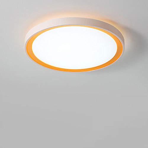 16 Watt Einbauleuchten (JIUMENG 16w RundeLED Deckenleuchte Einbauleuchte Energie sparen Einfach Kaltweiß für Wohnzimmer Schlafzimmer Kinderzimmer Küche Flur Deckenleuchte,Deckenlampe,Deckenstrahle)
