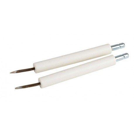 jeu 2 electrodes ref 000006 pour chaudière cythia atlantic/guillot