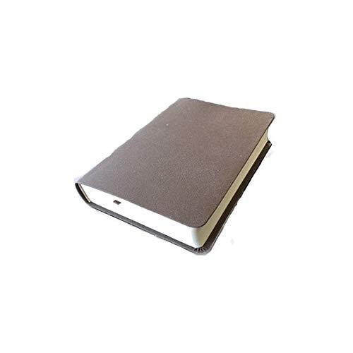 Die Bibel - größere Taschenbibel (Bonded-Leather, grau-braun): Elberfelder Übersetzung 2003, Edition CSV Hückeswagen, Bonded-Leather, Blindschnitt mit Karten
