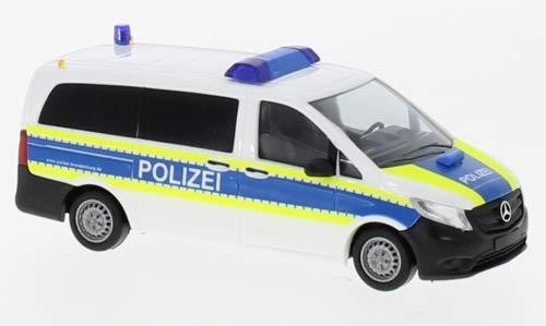 Mercedes Vito, Funkstreifenwagen Autobahnpolizei, 2014, Modellauto, Fertigmodell, Busch 1:87