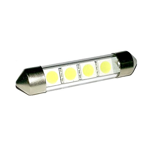 white-4xsmd-led-interior-bulb-renault-traffic-van-42-44mm-xenon-look