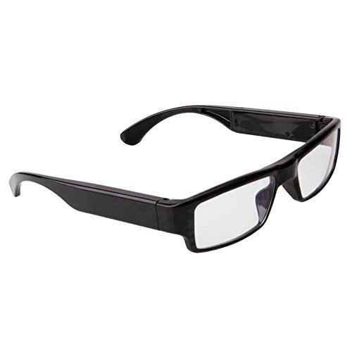 asiproper-Brille Sonnenbrille mit Kamera HD 720p, DVR-recor