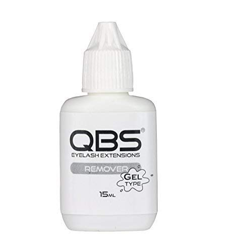 Qbs Gel Type Dissolvant de Colle 15ml - Extensions Cils Individuels