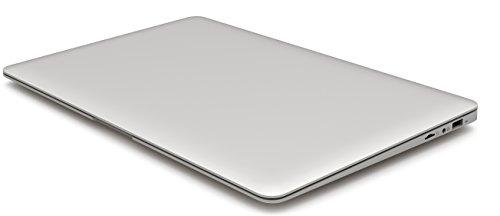 HKC NT14W-DE 35,6cm (14 Zoll ) 1920x1080 Full HD IPS Bildschirm Laptop, 4GB RAM, 32GB eMMC Speicher, USB 3.0, (Intel Atom Quad Core, x5 Z8350 CPU, Burst Frequenz 1,92 GHz, Intel FHD, Deutsch Windows Home 10, 64 Bit), Deutsch Tastatur. Deutsch Netzadapter, Silber, neue Version - 6