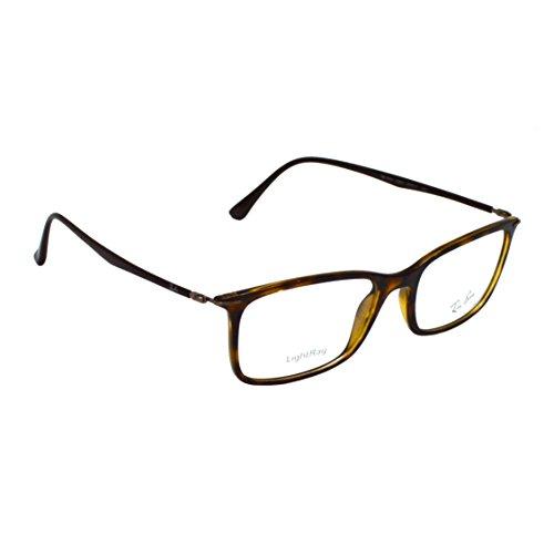 8fc35aa0260 Ray ban 8053672234367 Black Rectangular Sunglasses Black Rx7031 2301 53-  Price in India