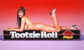 mel-ramos-tootsie-roll