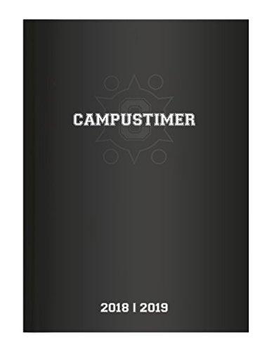 Campustimer A5 Woche Black 2018/2019