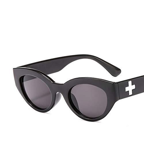 Liuao Druck Sonnenbrillen Oval Frame Brillen Mode Wild Marine Stück Damen Designer Hochwertige Sonnenbrillen,Style 2