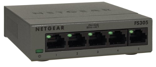 Fast Ethernet Metallgehäuse Unmanaged Switch (5-Port) ()