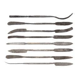 Speckstein-Set Werkzeug - Raspel 20 cm lang
