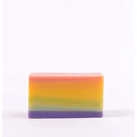 F&HY&L SAPONE sapone handmade freddo colorata pelle pulita cura verde