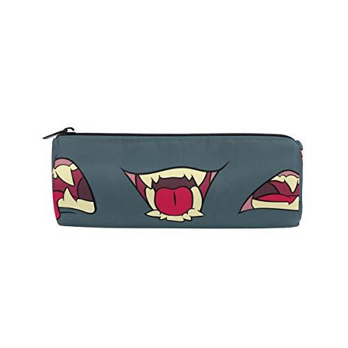 Bonipe Hot Lips Collection Federmäppchen Tasche für Schule, Schreibwaren, Stiftbox, Reißverschluss