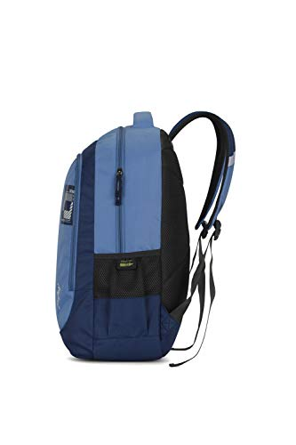 Best skybags backpack in India 2020 Skybags Beatle 01 27 Ltrs Blue Casual Backpack (Beatle 01) Image 3