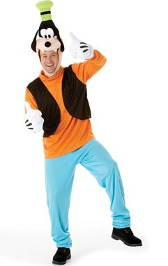 Adult Costume Men : LARGE (Goofy-kostüme)