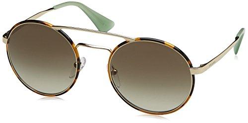 Prada PR51SS, Gafas de Sol Unisex Adulto, Marrón (Pale Gold Havana 7S04K1), Talla Única (Talla del Fabricante: One Size)