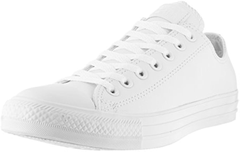 Converse Chuck Taylor All Star Adulte Mono Leather Ox 15460 Unisex   Erwachsene Sneaker