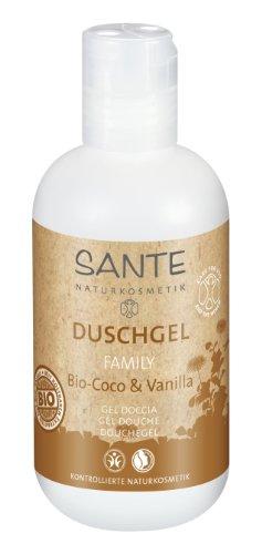 Sante gel douche bio Coco Vanilla?: Dimensions?: Taille de Voyage – Connaissez Taille d'apprentissage (200 ml)