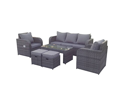 Test Yakoe Rattan Gartenmobel Set Sofa Und Ruhesessel Meine Angebote