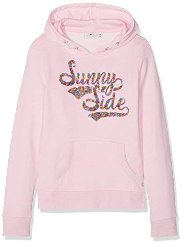 TOM TAILOR Kids Mädchen Placed Print Sweatshirt, Rosa (Sweet Lilac Rose 2010), Herstellergröße: 140