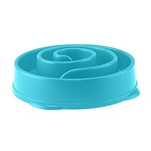 MultiWare Gamelle d'alimentation Lente Bol d'alimentation Anti Glouton pour Chien