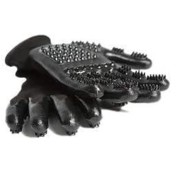 #1 preisgekrönte Handson-Handschuhe für Schuppen, Baden, Fellpflege, Pferde, Hunde, Katzen, Tiere, Kleine Haustiere, Medium, grün