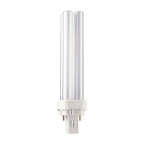 GE geringe Beleuchtung 2Pin Biax D CFL 18W G24D-2warm weiß 10000Stunden -