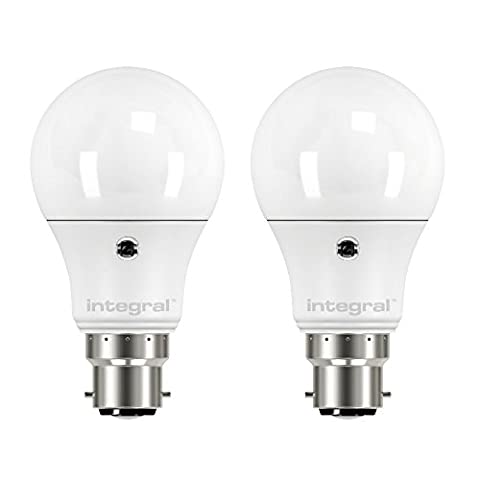 Integral LED 6.W Large Bayonet Cap Sensor Classic Globe Bulb[Energy
