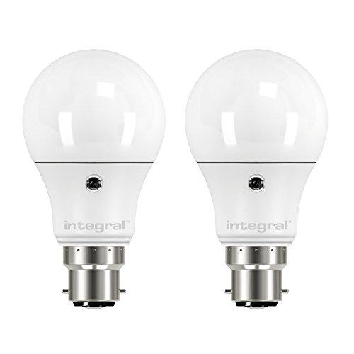 Integral LED-Globus-Leuchtmittel, plastik, warmweiß, B22, 40 wattsW Integral Led