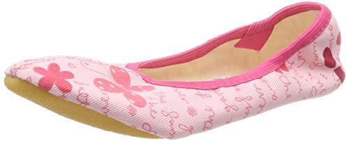 Beck Mädchen Butterfly Gymnastikschuhe, Pink (Rosa 03), 30 EU