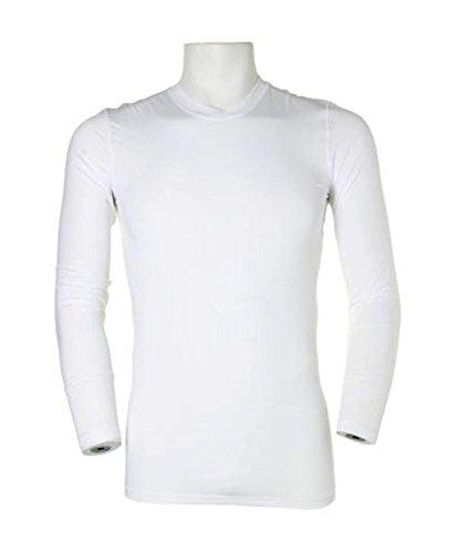 Gamegear Warmtex KK979 à manches longues de Base Layer Blanc - Blanc