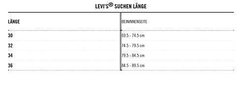 Levi's Herren Jeanshose 501 Original Straight Weiß (Optic White 0651)