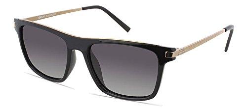 Opium Wayfarer Sunglasses (Black) (8904157319485) image