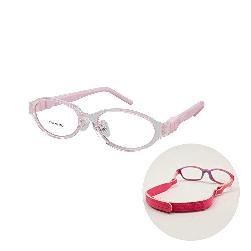 Student Gläser Rahmen Größe 46-15-135 Bendable, Flexible Kinder Brillen Beine umschaltbar,...